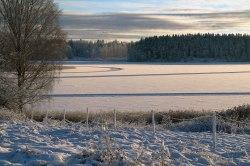 Vinterbana på isen