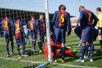 """Heta känslor både på och utanför planen fick vi uppleva när FCB """"bara"""" fick oavgjort i P18 matchen mot Espanyol."""