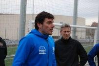 Miguel Ángel Beas Martinez under praktikpasset i Barcelona