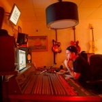 Studio sessions 2016 at Kapten Studios. Photo: Carl Biörsmark