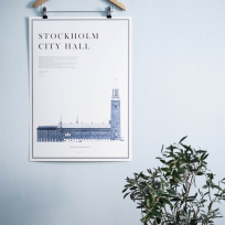 Print, Stockholm city hall