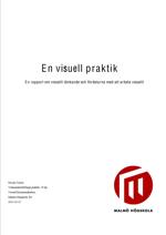 En rapport om visuellt tänkande och fördelarna med att arbeta visuellt- Författad av Nicola Taylor