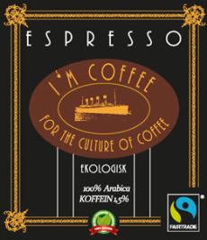 Espresso 100% Arabica Singel - Hela bönor 0,250kg
