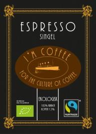 Espresso 100% Arabica Singel - Hela bönor 0,500kg