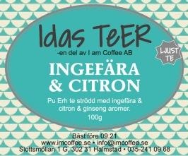 Ingefära & Citron - Ljust Te -
