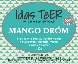 Mango Dröm- Svart te -