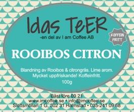 Rooibos Citron- Koffein fritt -