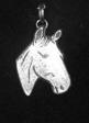 Häst Hängsmycke Tenn