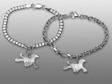 Afghan hängsmycke till armband silver