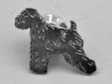 Irish Softcoated Wheaten Terrier pin silver