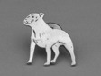 Staffordshire Bullterrier pin