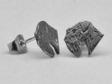 Sealyhamterrier örhänge huvud par