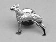 Rhodesian Ridgeback pin guld