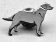 Labrador Retriever pin guld