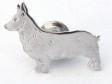 Welsh Corgi Pembroke pin silver