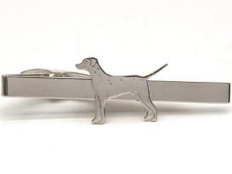 Dalmatiner slipsklämma - Silver