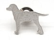 Curly Coated Retriever pin