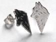 Belgisk Vallhund örhänge huvud par silver