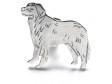 Berner Sennenhund pin silver