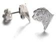 Norfolkterrier örhänge huvud par