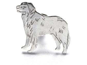 Berner Sennenhund pin - Silver