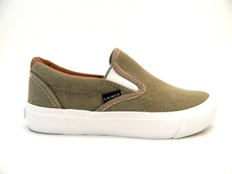 Leaf Jr Parga Canvas Khaki - Storlek 32-203mm