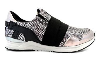 XtiKids Sneaker Svart/Silver - Storlek 28-174mm
