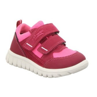 Superfit Sport7Mini Sneaker Rosa - Storlek 23-145mm