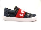 Levi´s Kids Bermuda TextilSneaker Jeansblå