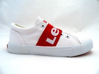 Levi´s Kids Bermuda TextilSneaker Vit - Storlek 28-184mm