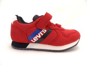 Levi´s Kids Springfield Mini Sneaker Röd/Blå - Storlek 23-144mm