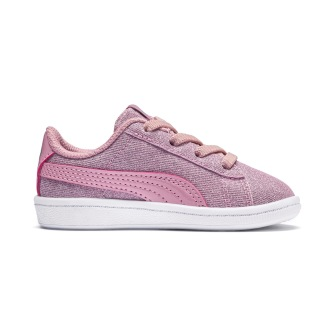 Puma Vikky Glitz Ac Inf Sneaker Pale Pink - Storlek 22-144mm