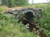 10A Hudiksvall Stamnäs C.a 14,1km NNO Hudiksvalls kyrka bro 1 (30m SO ny bro)