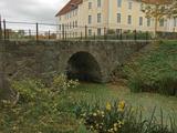 2B Ystad Krageholm slott C.a 2,2km VSV Sövestads kyrka bro 1