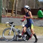 Fredrik ut på cykeln