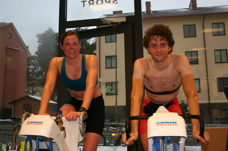 2014, 2015 och 2018 års segrare Jenni Nilsson och Staffan Arvidsson efter utfört arbete. Staffan siktar på sjätte raka segern 2019 och Jenni får jobba för att ta sin fjärde.