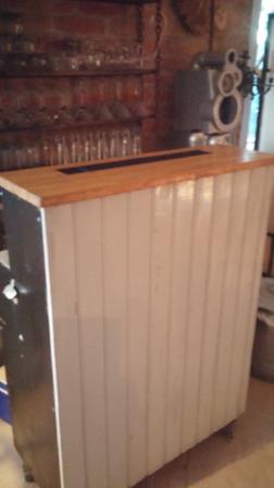 hyra bardisk glas bartender
