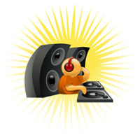 hyra hyr DJ mixad musik diskjockey musikmaskin