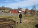 Danne lagar hagar efter vintern