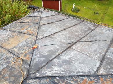 Renovering av plåttak i Ludvika 052844e7346d4
