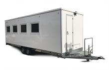 Kontorsvagn med server-rum