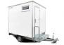 Dusch / Toalettvagn 1P Delux