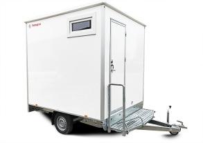 Dusch / Toalettvagn 1P