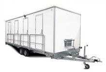 Toalett / Duschvagn 4PSHW Vanligt avlopp