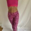 Tights Traneving Print Pink - Tights Traneving Print Rosa S