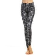 Traneving Tights Print Grey
