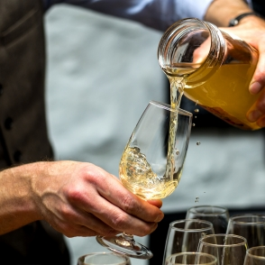 moonshine i glas