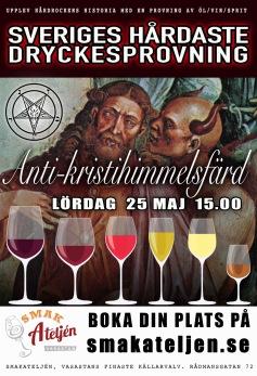 666 - Antikristihimmelsfärd och syndernas dryck (lör 25/5) -