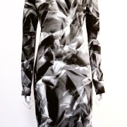 NOIR-SPRAYPAINTED-TURTLENECK-DRESS