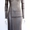NOIR-MESH-DRESS - NOIR-MESH-DRESS GREY MEDIUM